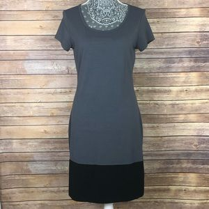 ATHLETA Ella Colorblock Tee Shirt Dress Medium